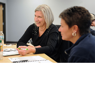 Program Participants Engage in Discussion