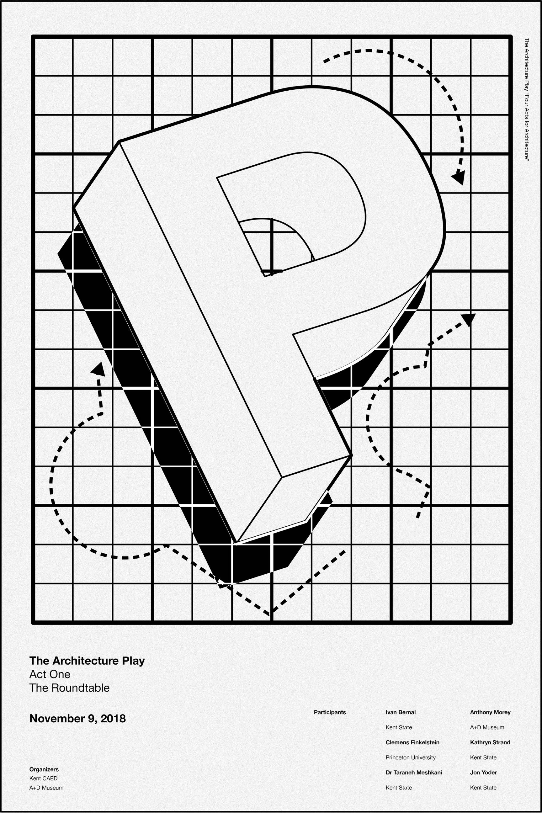 Architecture Play Act One Poster