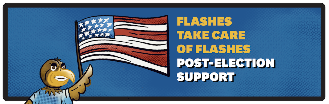 Post-Election Support Banner