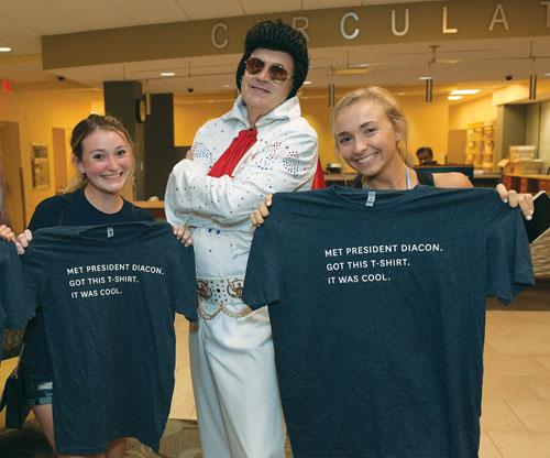 President Diacon Elvis