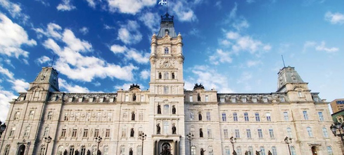 The Quebec Legislative Building