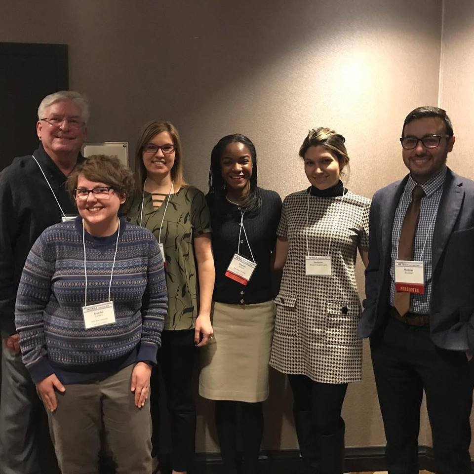 Rhonda Hylton and team presenting at OCTELA conference
