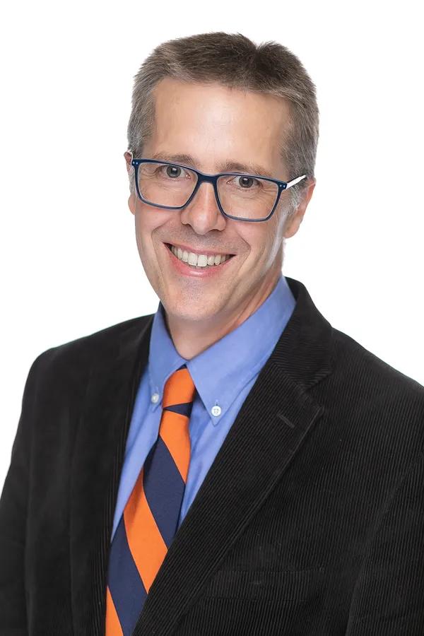Ryan Claassen, professor of political science