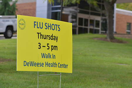 Kent State Employee Wellness is reminding employees and families to get their free flu vaccination ahead of this year's flu season.