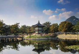 Pagoda at Gyeongbok Palace