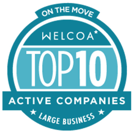 Kent State University has been named one of the Top 10 Active Companies in the nation by the Wellness Council of America.