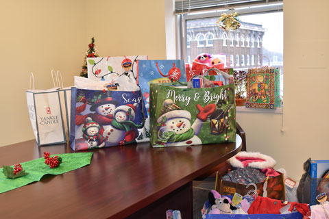 The donated gifts reflect the generosity of Kent State East Liverpool