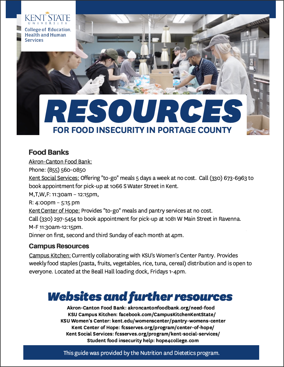 Food Insecurity Resoource Guide