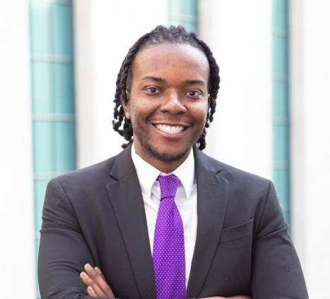 Headshot of student entrepreneur Gregory Joyce