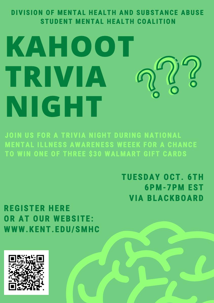 kahoot trivia night poster
