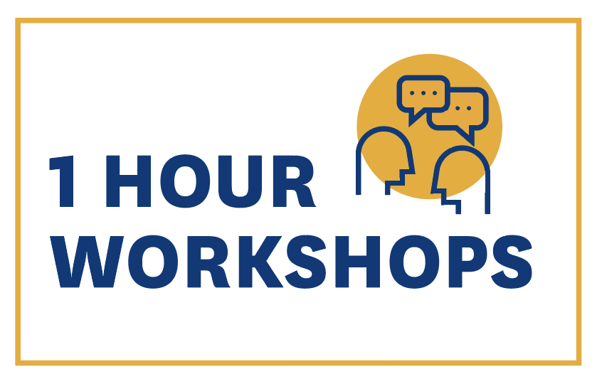 One hour workshops icon