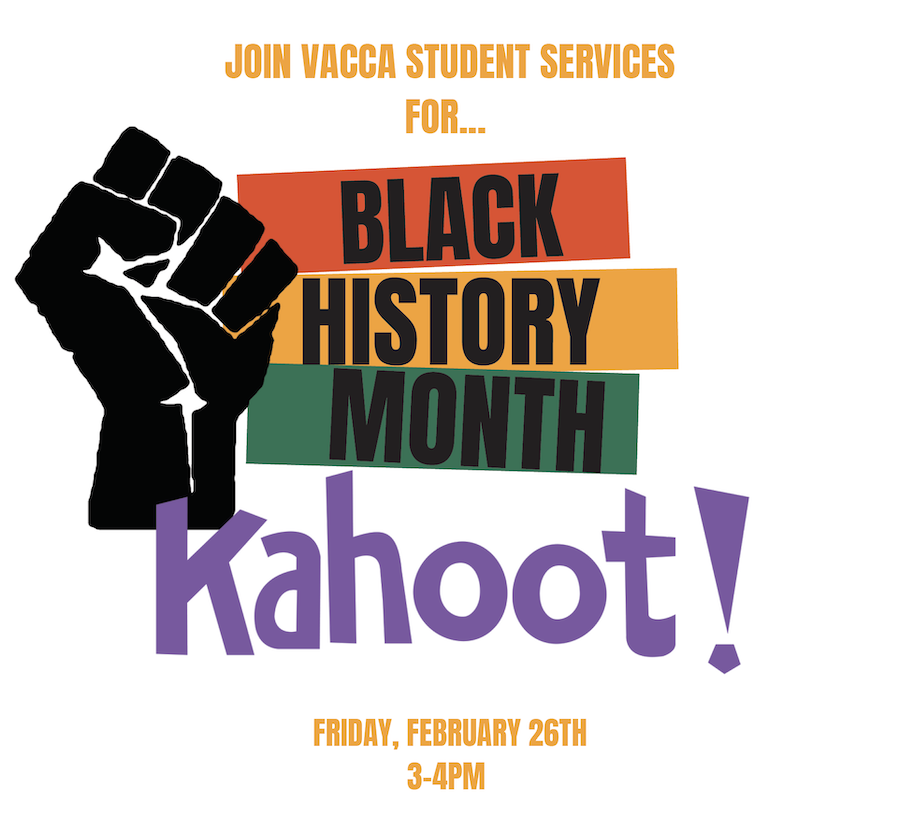Black History Month Kahoot graphic