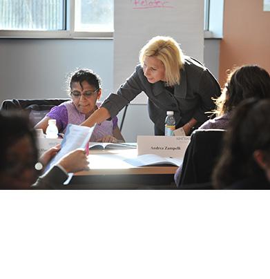 Program Participant and Kent State Facilitator Kristy Frieden