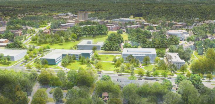 Kent campus gateway proposed rendering