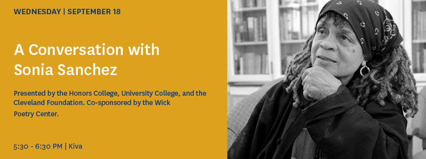 Conversation with Sonia Sanchez