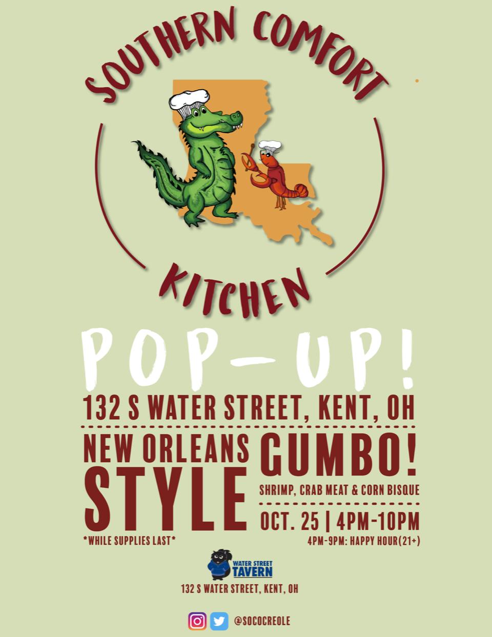 Southern Comfort Kitchen Logo