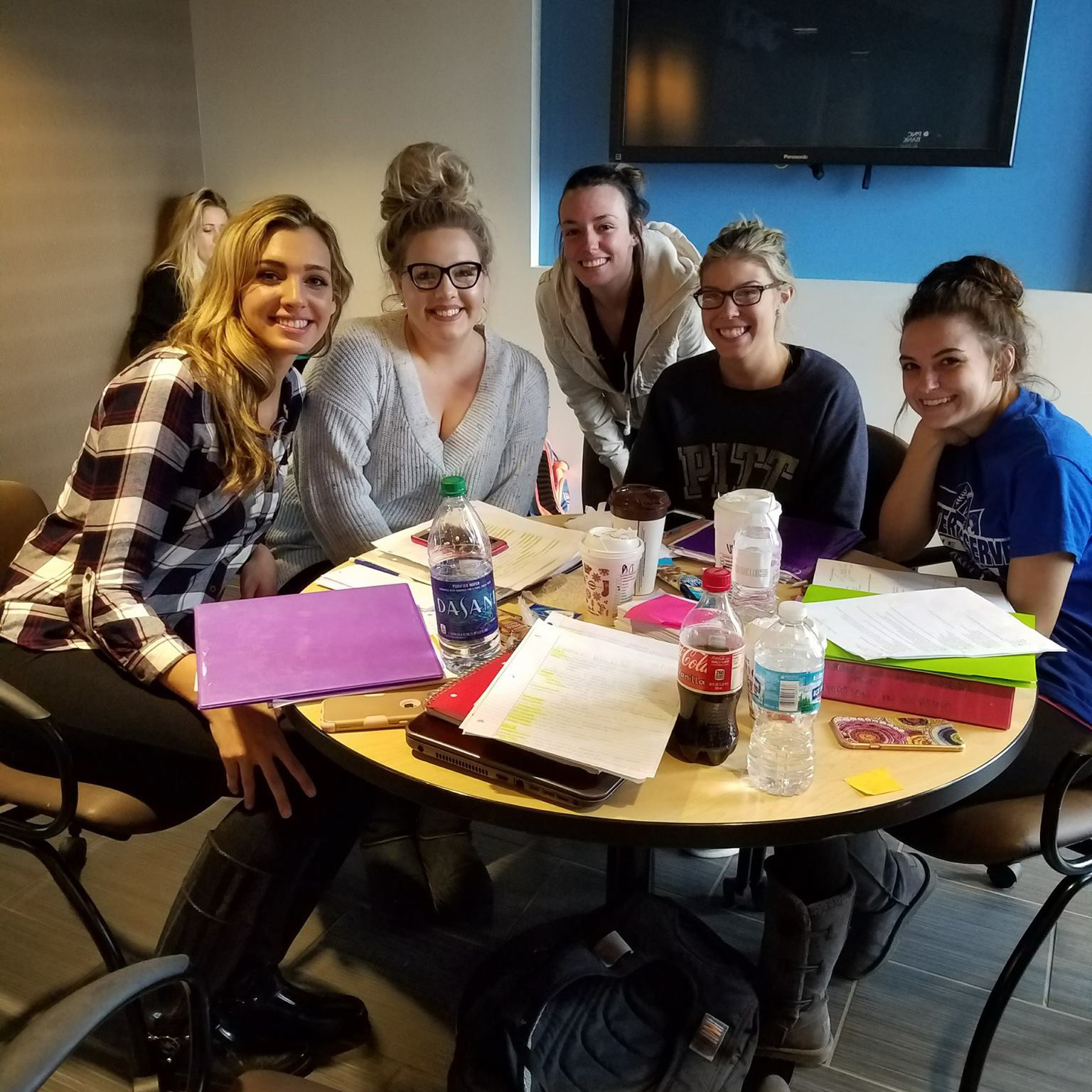 Kent State University students collaborate on a Seeds of Wellness-funded project.
