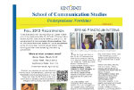 March 2013 Communication Studies Undergraduate Newsletter