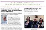February 2012 Communication Studies Undergraduate Newsletter