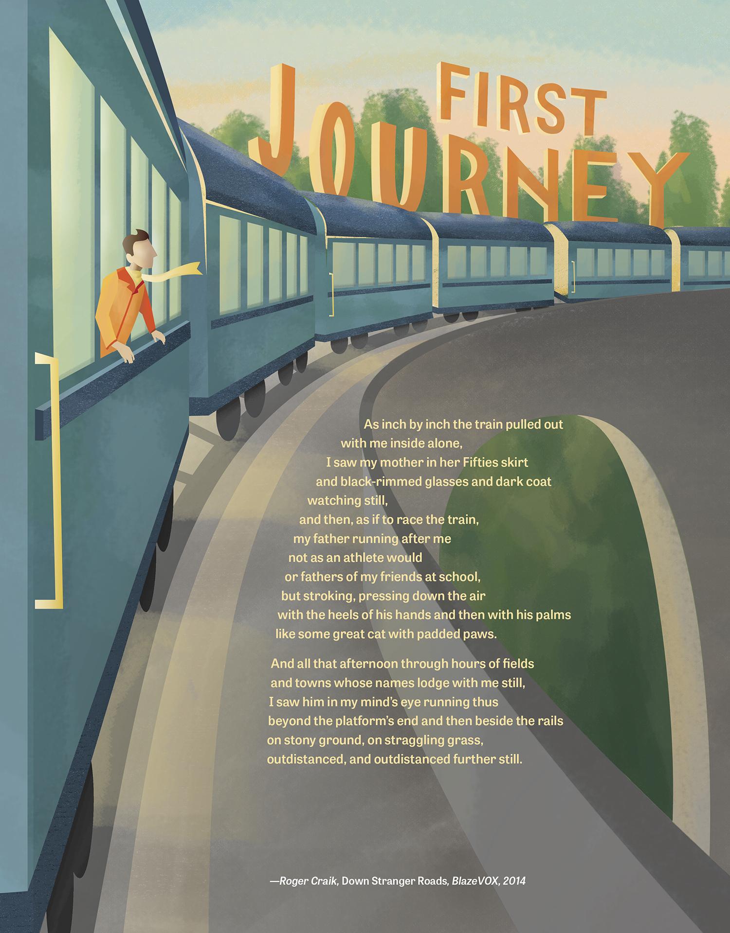 First Journey illustration by Kara Wellman '16