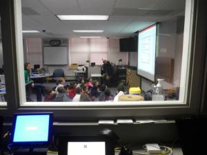Monitoring a classroom