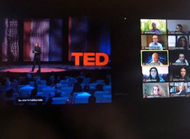 TED talks were used as guest speakers for the conference