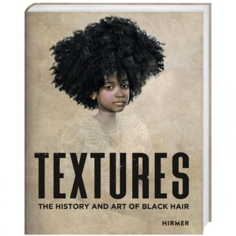 book cover for TEXTURES - the history and art of Black hair