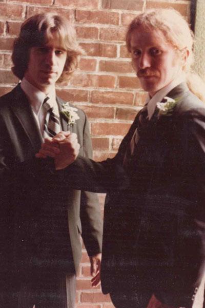 Thomas Grace (left) and Alan Canfora