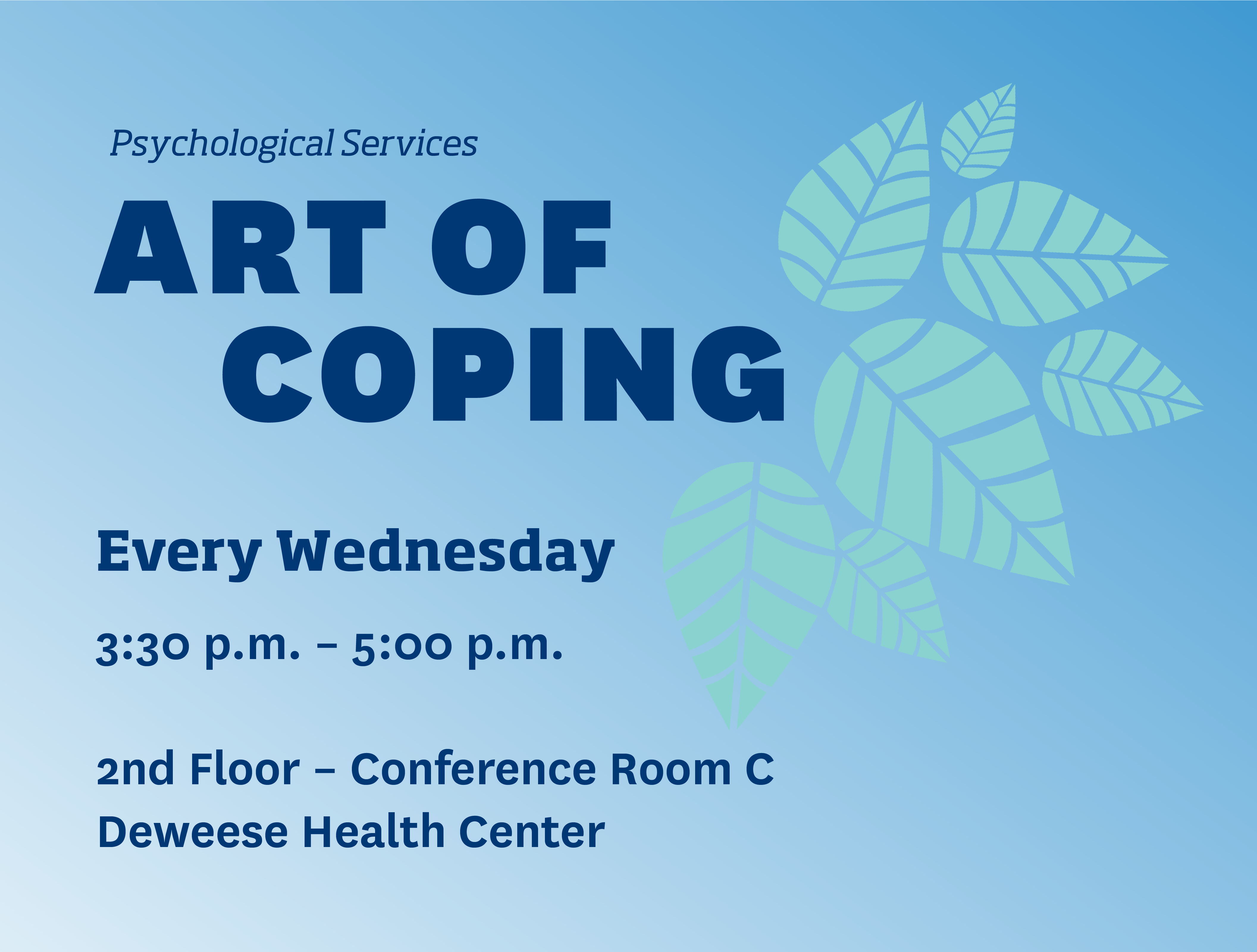 Art of Coping Flyer
