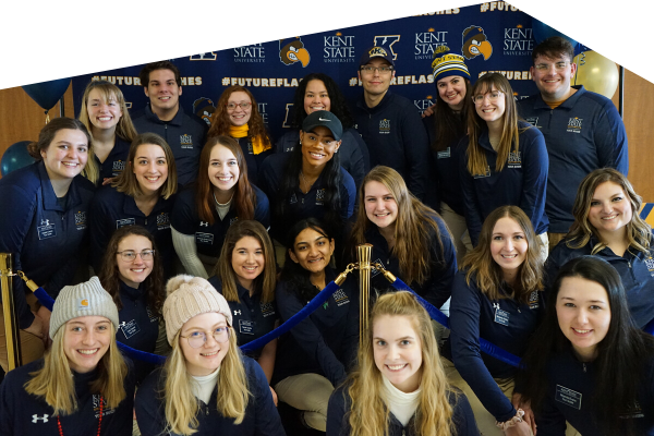 Kent State Admissions Student Tour Guides