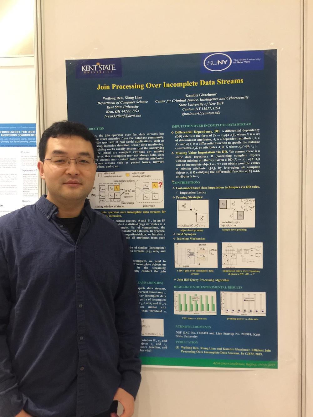 University Fellowship Recipient, Weilong Ren
