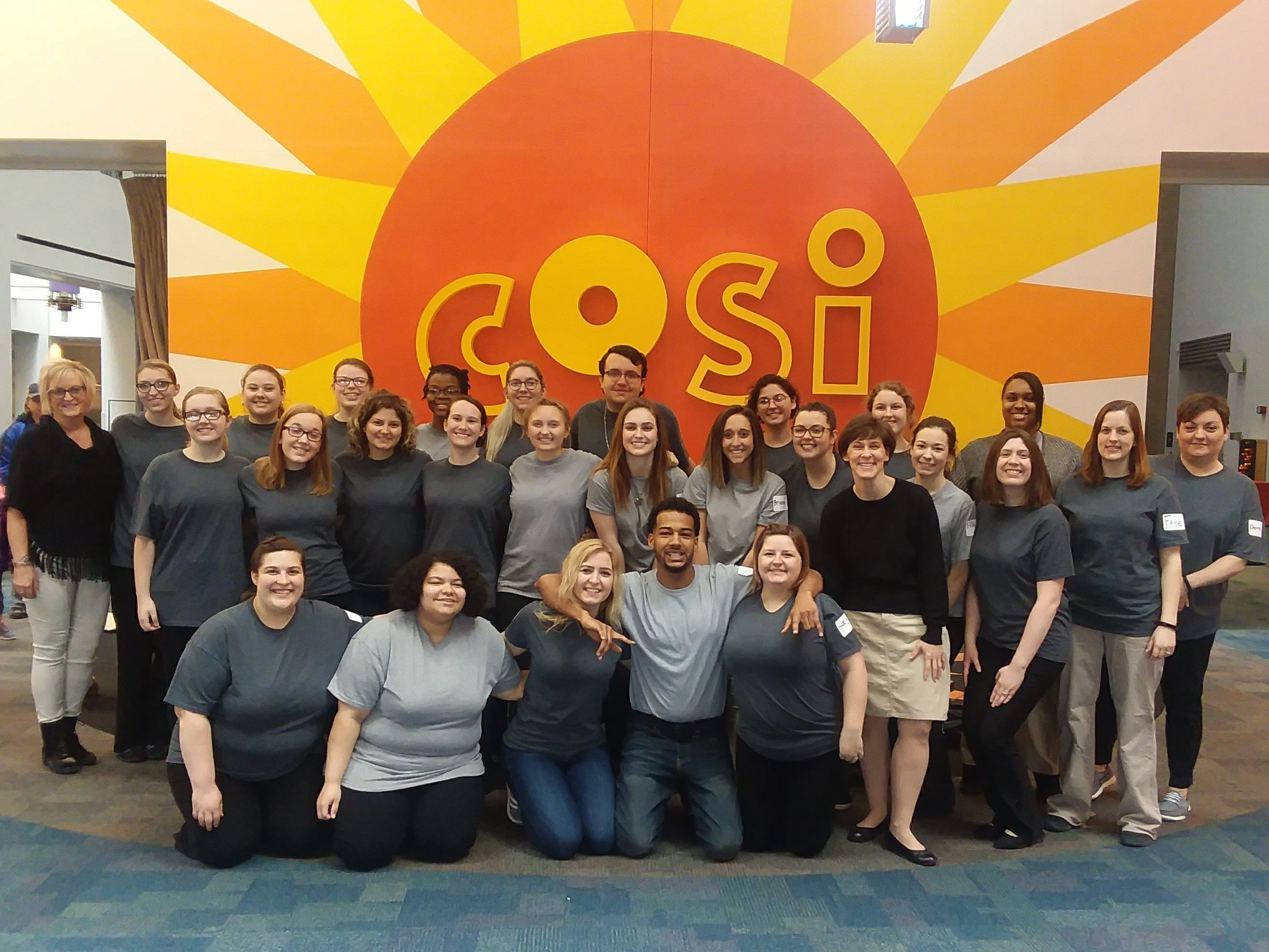 ASEI students at COSI