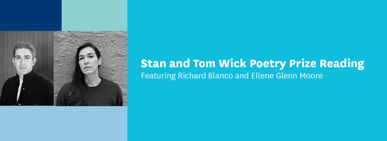 First book reading with richard blanco and ellene glenn moore