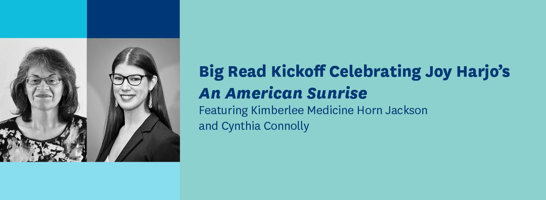 Big Read Kickoff Event banner