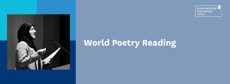 World Poetry Reading banner