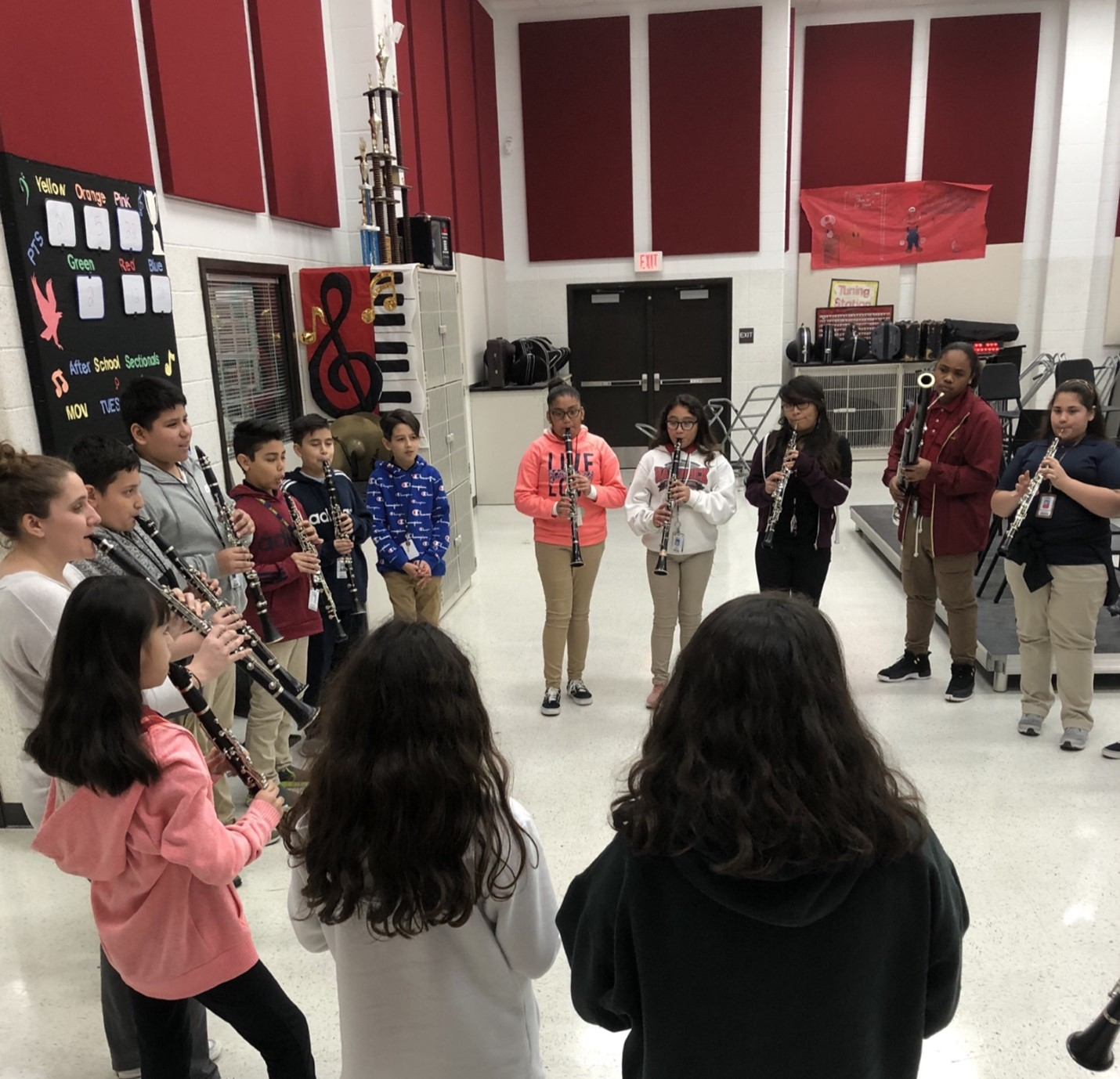 Students from Aldine ISD playing Poison Rhythm