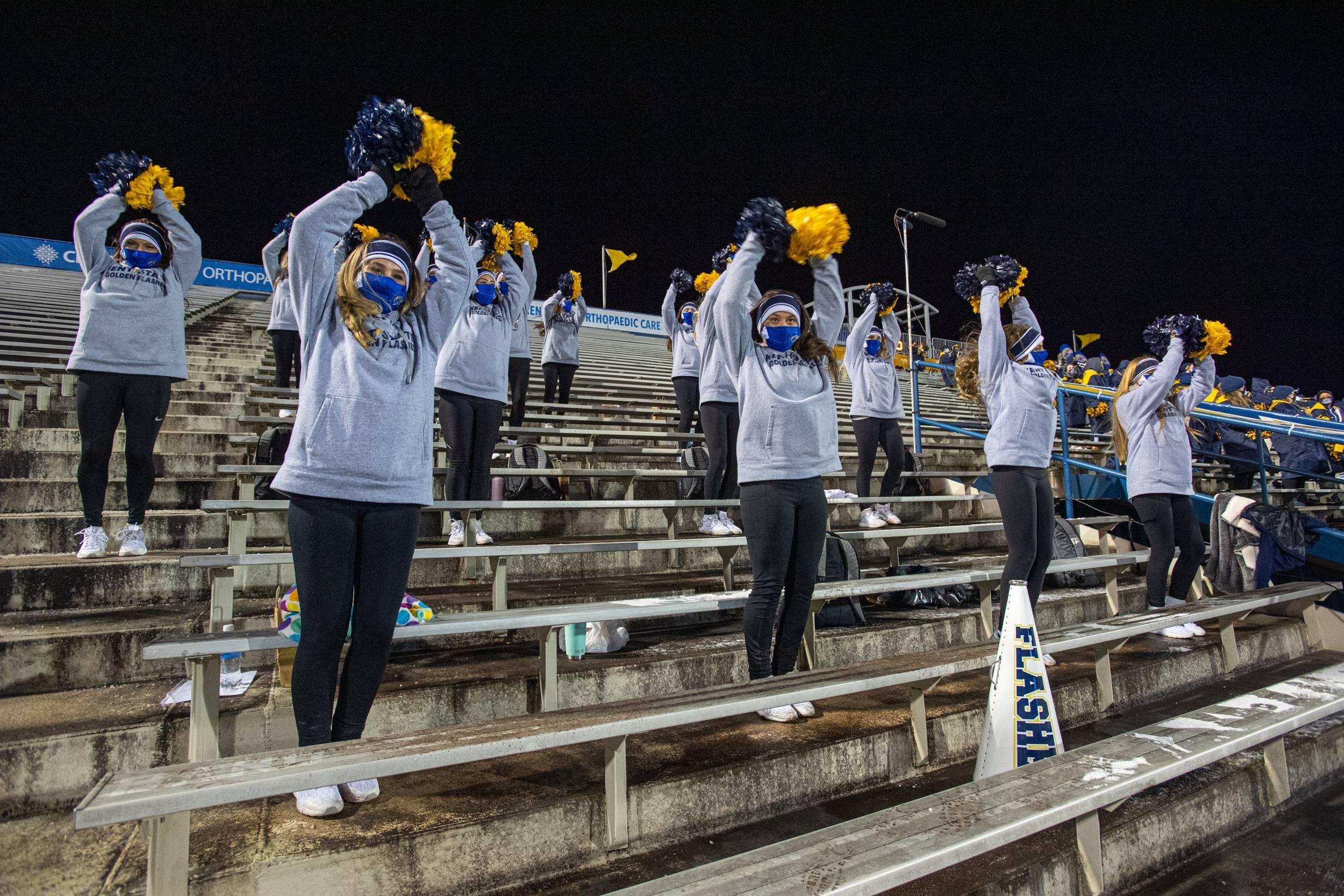 Kent cheerleaders