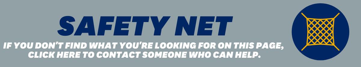Safet Net Inquiry Header