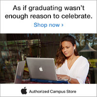 As if graduating wasn't enough reason to celebrate. Stop in to your authorized Apple campus store for low Apple education pricing