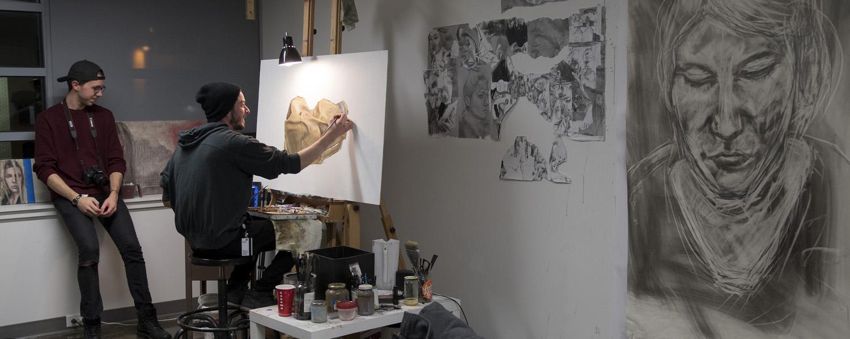 Graduate Painting Studio