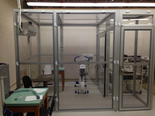 Environmental Physiology Lab equipment