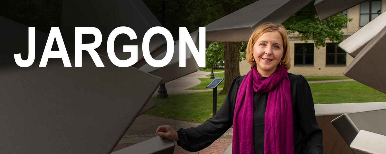 Emily Metzgar photo with Jargon overlay