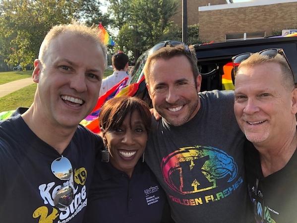 Alfreda Brown celebrates LGBTQ+ pride.