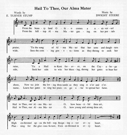 Hail To Thee, Our Alma Mater Sheet Music