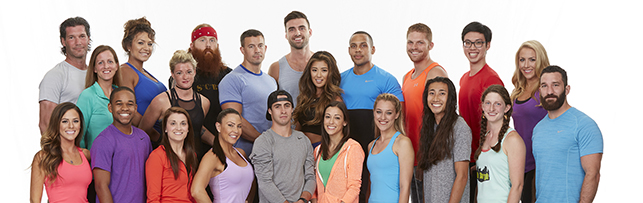 """The contestants on """"The Amazing Race"""". Photo provided by CBS"""