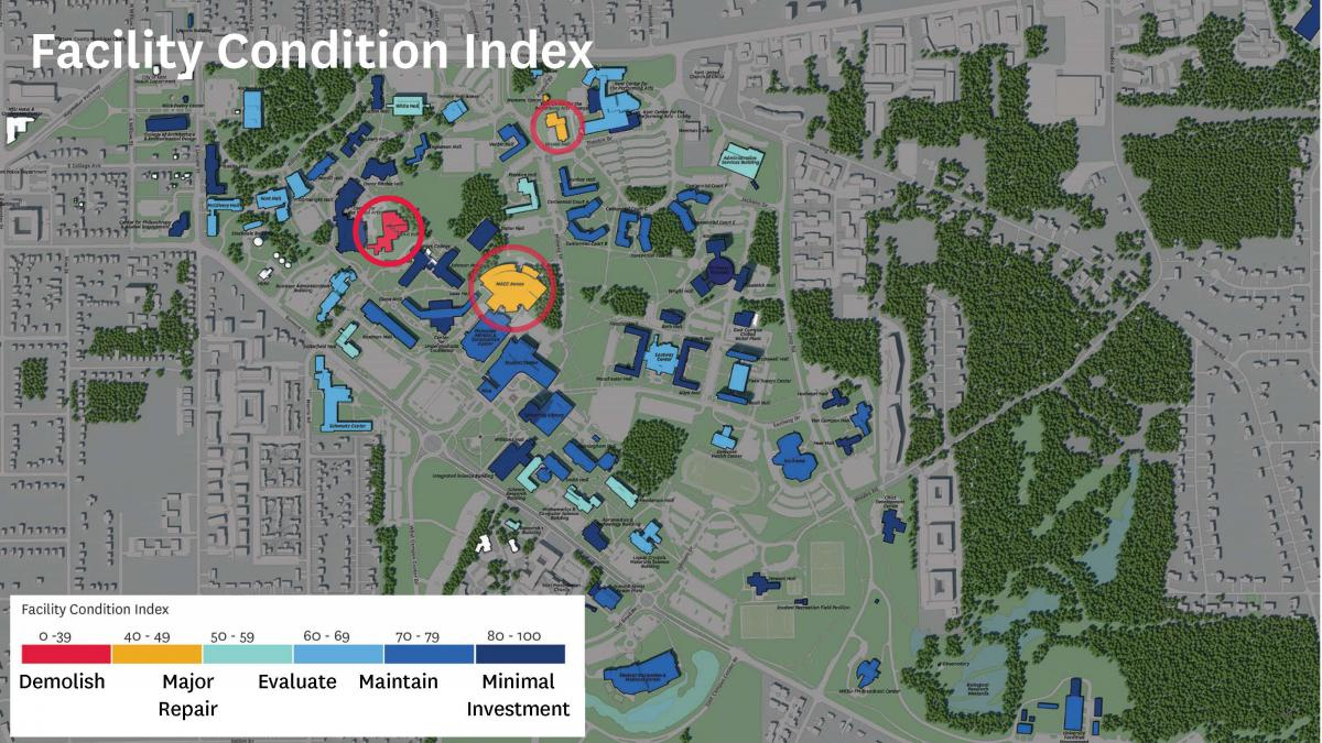 Faculty Conidition Index Map