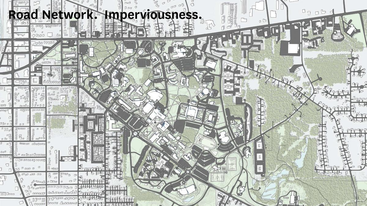 Road Network. Imperviousness.
