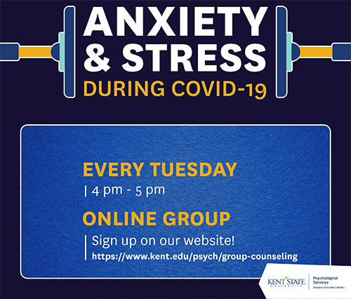 ANXIETY AND STRESS DURING COVID-19 Flyer