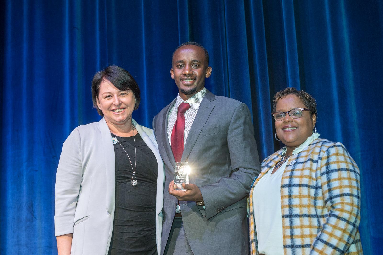 2020 Rozell Duncan Student Diversity Award Recipient, Pacifique Niyonzima