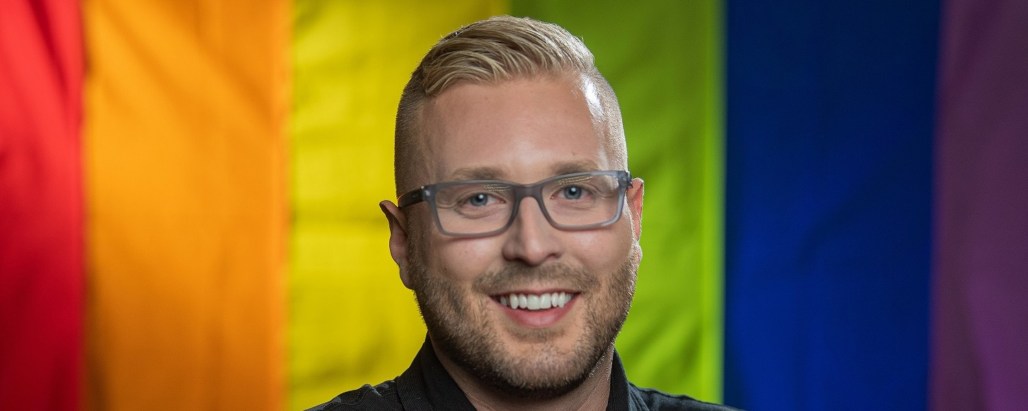 Andrew Snyder, research program coordinator for Kent State University's College of Public Health, is leading the first comprehensive Greater Akron LGBTQ+ specific Community Needs Assessment.